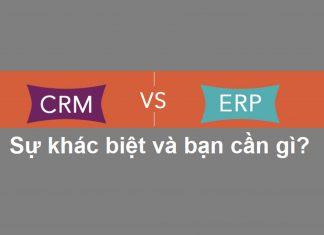 ERP và CRM có thực sự khác biệt?